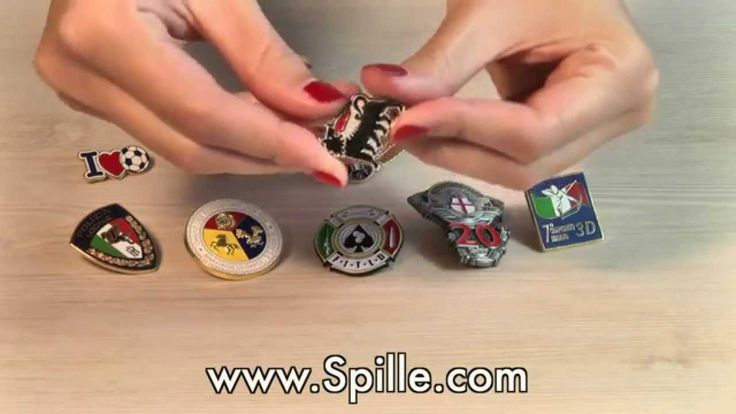 www.spille.com :: Spille Personalizzate, Spillette e Pins.