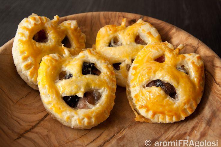 Zucche di Halloween di sfoglia