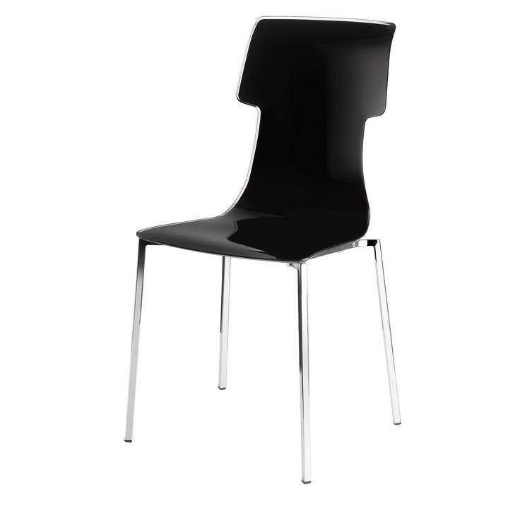 My Chair stol från Guzzini, formgiven av Carlo Colombo. Modern och ergonomisk stol i kromad st...