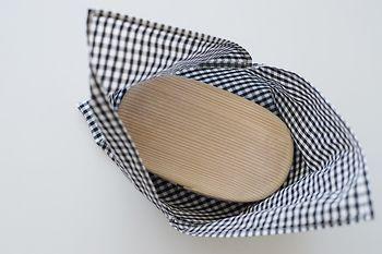 ■STEP4 縫い合わせた布をひっくり返すと、しっかり袋状に!