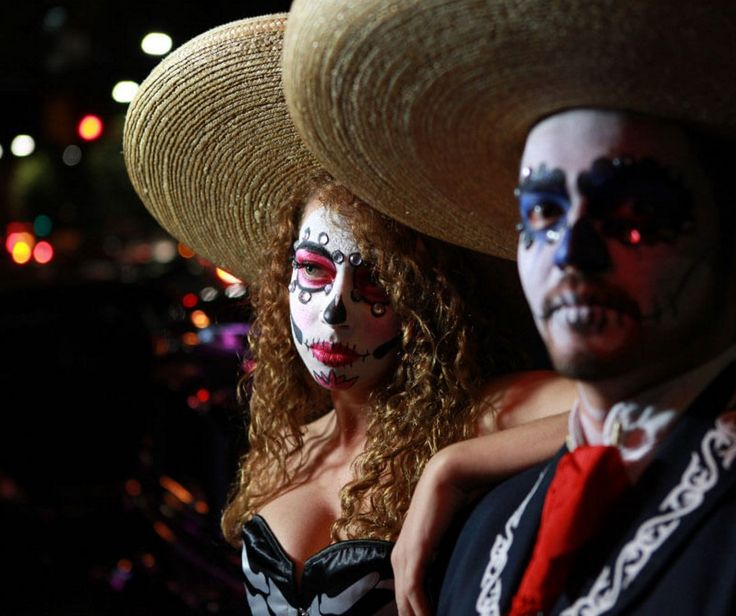 """Celebrate the Mexican holiday """"Day of the Dead"""" this Saturday at St. James Park.  #halloween #dayofthedead #mexican #celebrate"""