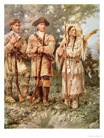 Lesson Plan Ideas - Lewis and Clark with Sacagawea - All about Lewis and Clark - Lesson Plan Ideas, Games, Resources, Activities, Etc...