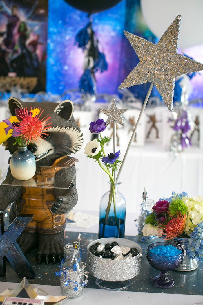 """Guardians Of The Galaxy"" Birthday Party Adult Birthday"