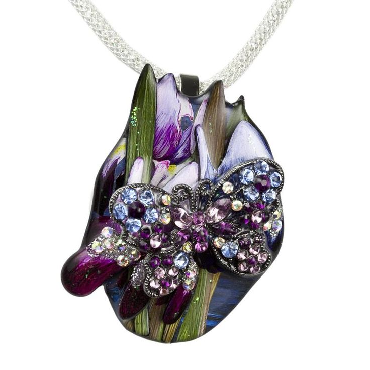 Magna-Pendant - Blue Lagoon Butterfly Luxury | Pendants & Necklaces from Enhancery Jewelers | San Diego, CA- (click image to buy now )