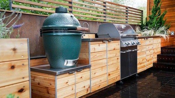 Outdoor Küchen Holz : Outdoor küche und garten lounge geplant hier sind einige schicke