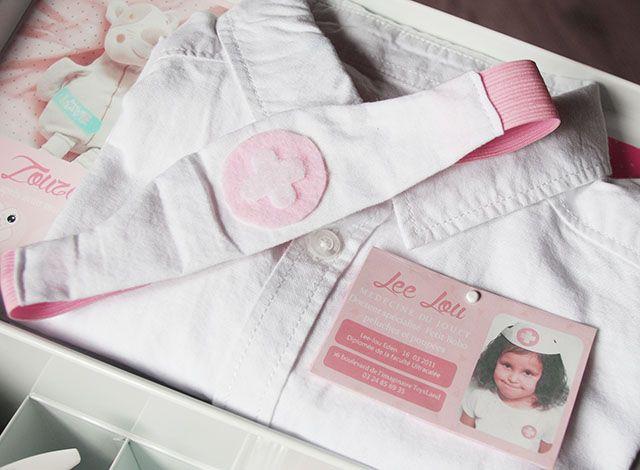 Malette de docteur Kawaii DIY Jouet kit Costume infirmière