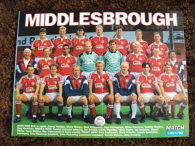 1991-1992 includes Alan Kernaghan and Mark Proctor