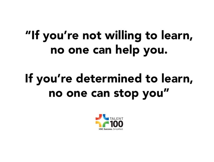 "BE PART OF A DYNAMIC LEARNING COMMUNITY   ""If you're not willing to learn, no one can help you. If you're determined to learn, no one can stop you"""