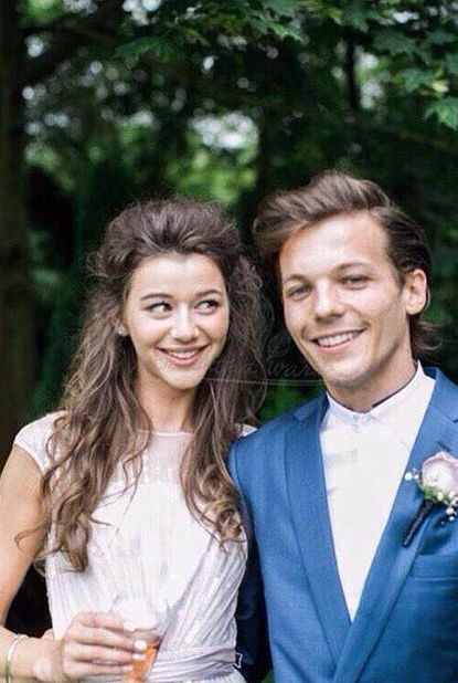 (Unseen) Louis and Eleanor at Jay's wedding.....ahhhhh ...