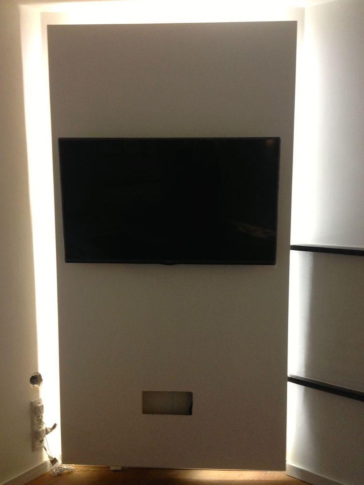Tv Ruckwand Selber Bauen Ikea Metod Hack Indirekte Beleuchtung