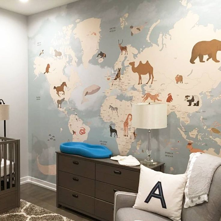 I'm suddenly obsessed with this map wallpaper!