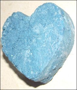 shampoing solide à l'argile bleue