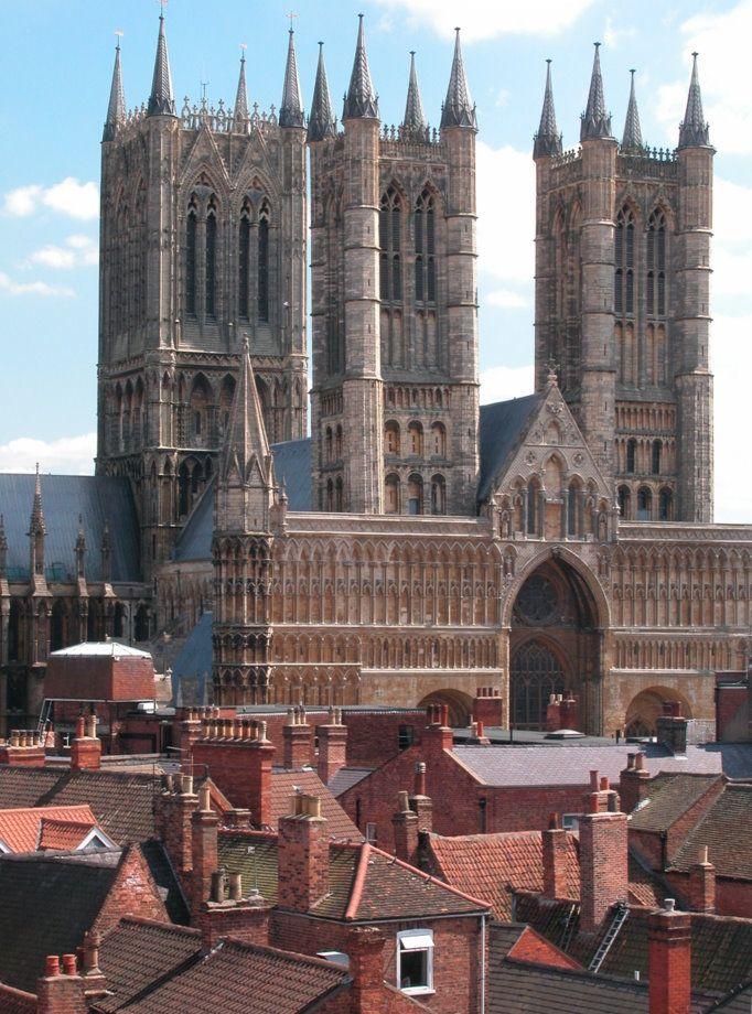 Lincoln Cathedral, Lincolnshire, England Neville Stanikk Photography,  building started on the Cathedral in 1088