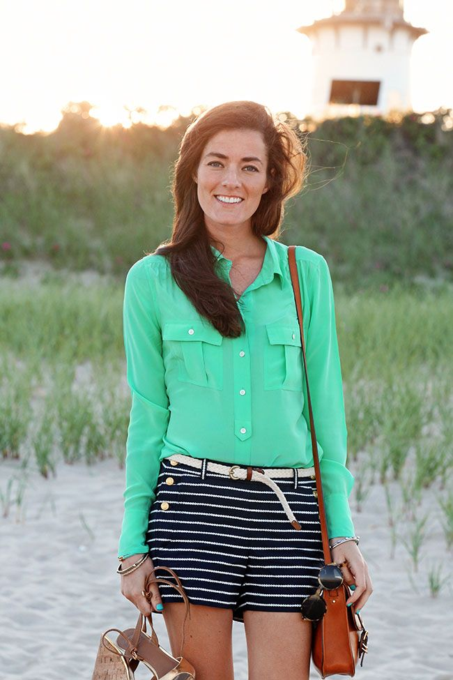 NEED this girl's closet. Preppy chic with a nautical flair ⚓