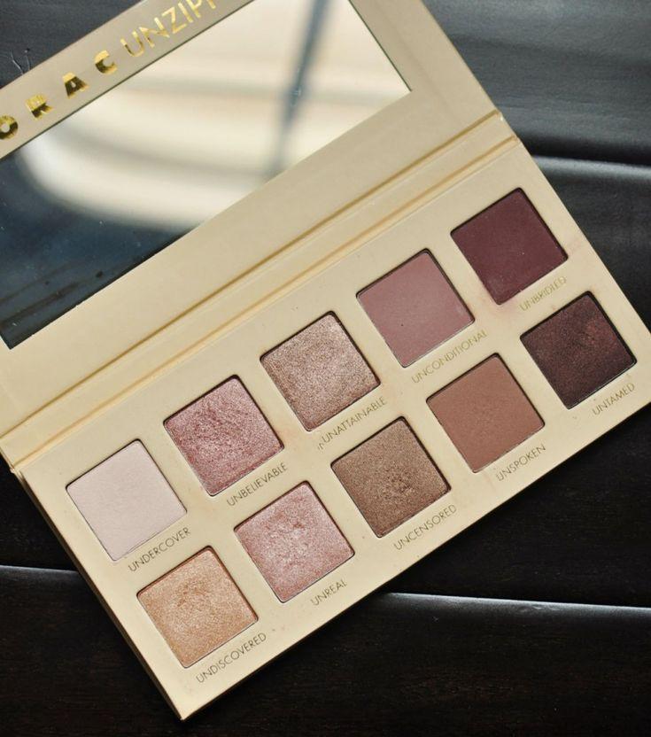 Lorac Unzipped Palette - rose gold eyeshadow