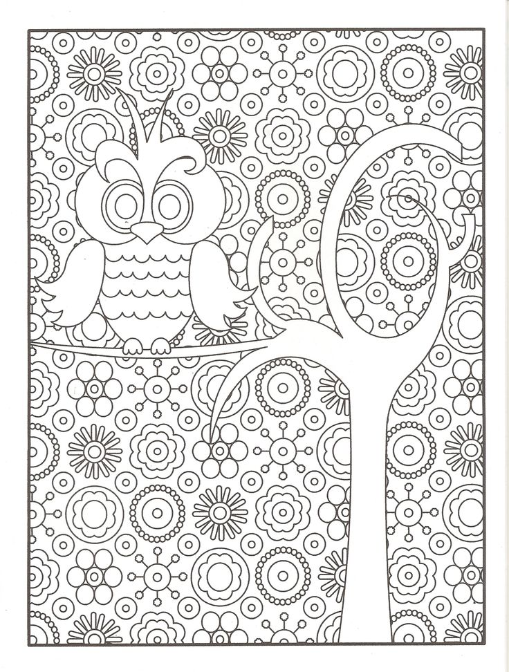 Garden Party Floral Designs Coloring