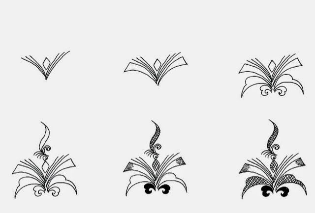 HennaArt.ca: Whispy Progressive Drawing