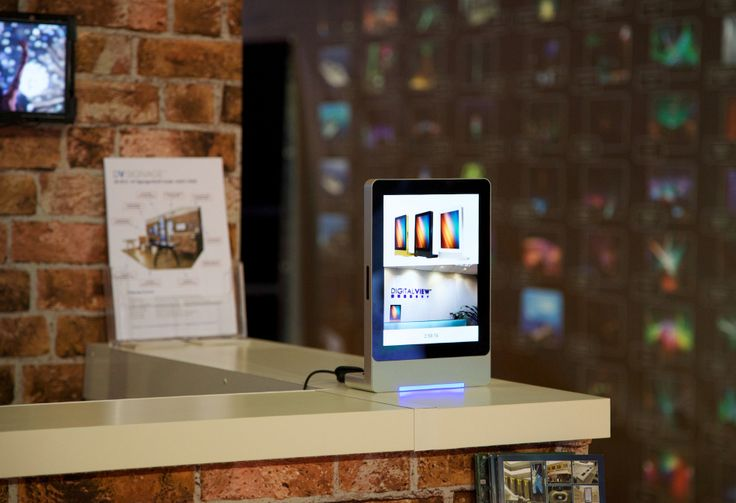 Digital View Android based interactive tabletop display