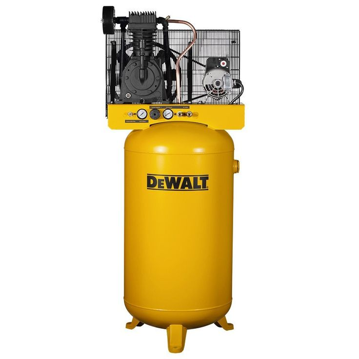 DeWalt DXCMV5048055 Two Stage Cast Iron Industrial Air Compressor, 80 Gallon