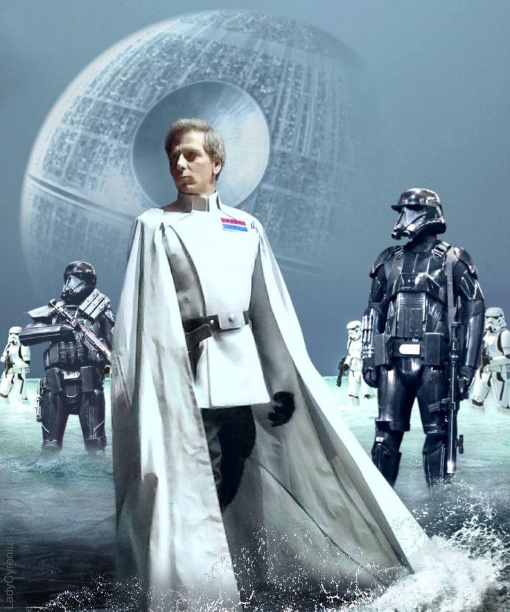 Orson Krennic & Troopers (Actor: Ben Mendelsohn) - # Star Wars - Rogue One #…