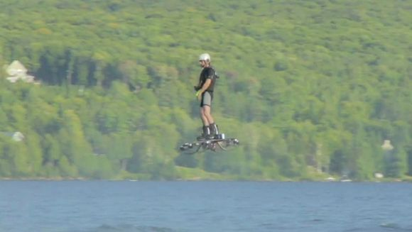 A future in which we're all flying around on hoverboards may not have materialized just yet, but it does appear to be getting closer. After Hendo's magnetic hoverboard was announced last year, a new world record for the farthest hoverboard flight has now been set. And there wasn't a magnet in sight.