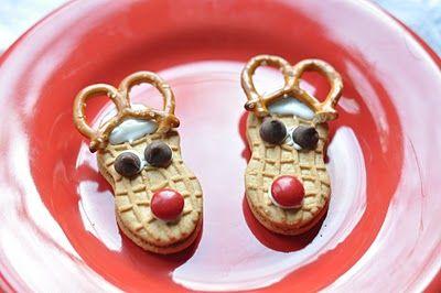 Reindeer Cookies for TREK Christmas party