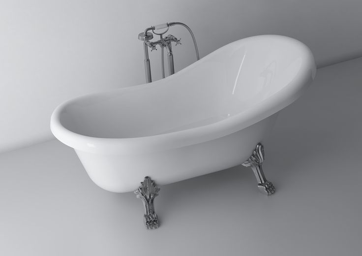 Freestanding bath is an integral part of the retro style bathrooms, especially when they are equipped in decorative feet imitating animal feet -  like an eagle's claws or paws of a lion, decorated in the color of old gold or chrome. When you decide to arrange your bathroom in Victorian style, choose a bathtub with a higher backrest on his head, which provides maximum relaxation while taking a bath.  http://www.marmite.eu/pl/produkt/706/show/wanna-romance-1745/