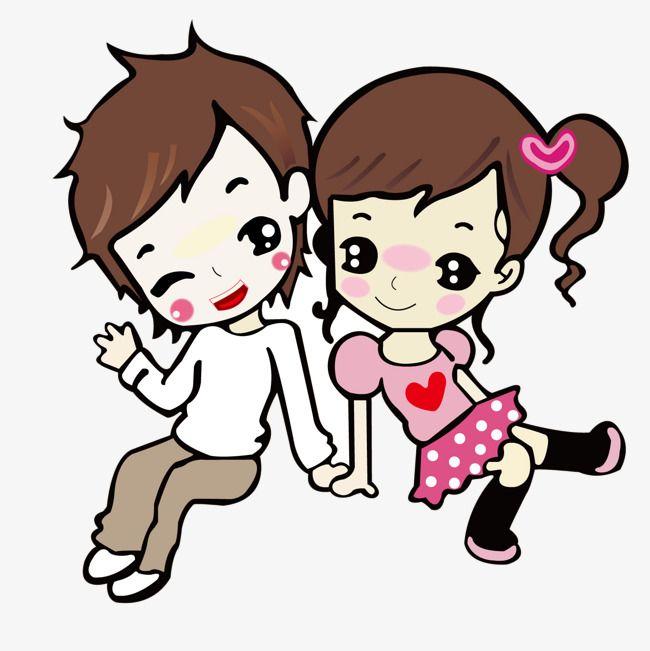 Cartoon Couple Png And Vector Cartoon Drawings Couple Cartoon Cartoons Png