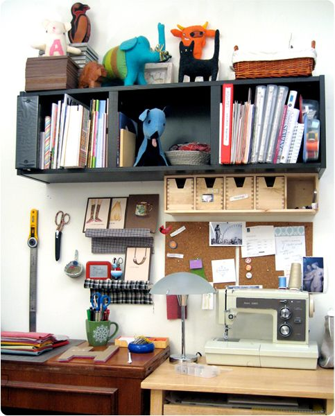 Craft Room Inspiration: Organize Your Work Space for Maximum Creativity creativespaces CreativeBusiness