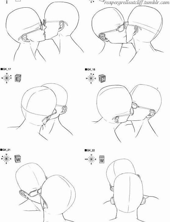 reapergrellsutcliff kiss scene rough sketches drawing for boys love yaoi - Drawing For Boys
