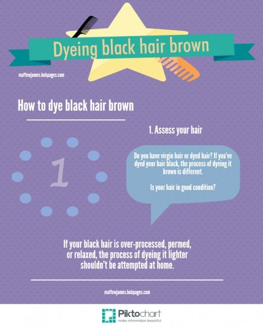 Have you gone black and want to go back? Find out how to dye black hair brown and return to a lighter shade...