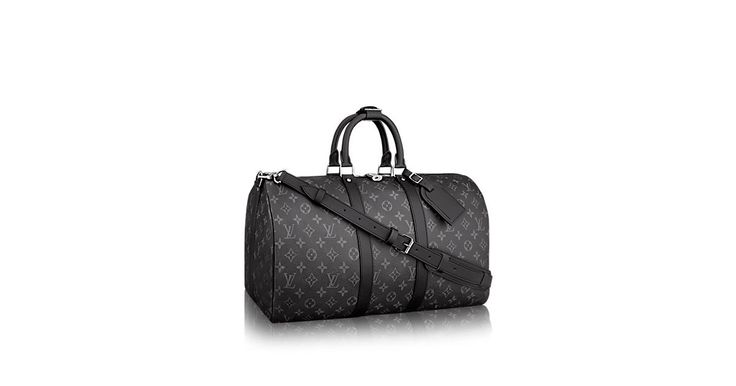 key:product_share_product_facebook_description Keepall 55 Bandoulièrekey:global_colon The beloved Keepall 55 Bandoulière now comes in our new iconic black and grey Monogram Eclipse canvas. Light, supple and always ready for immediate departure, the bag lives up to its name: those adept at the art of packing can easily fit a week's wardrobe into the generously sized (and cabin-friendly) Keepall 55.