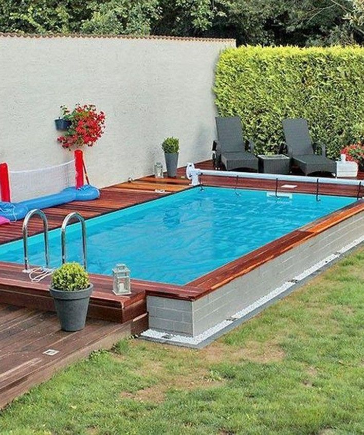 25 Gorgeous Small Pool Design For The Backyard 5 With Images