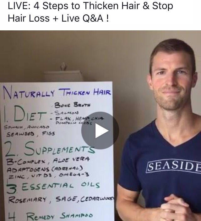 4 Steps To Thicken Hair Naturally & Stop Hair Loss With Dr. Josh Axe