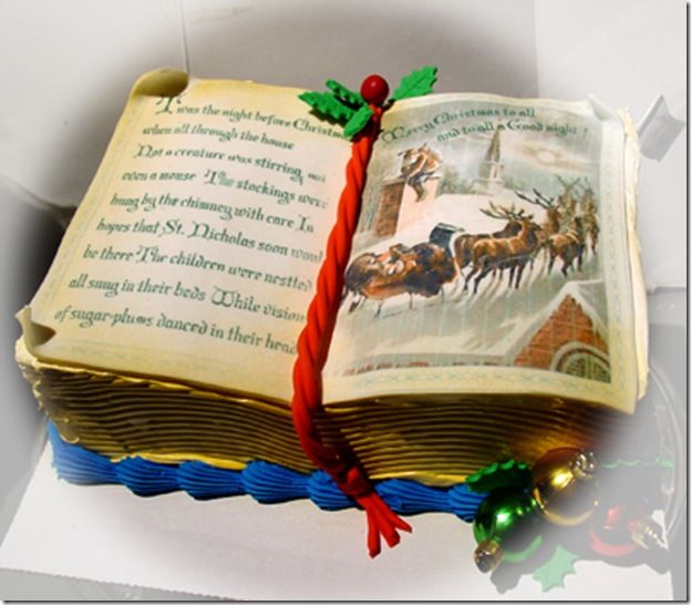 The night before Christmas Cake . . .