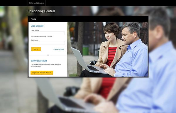 #SAP Positioning Central