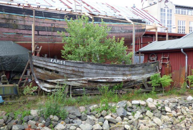 altes Boot, Museumshafen Flensburg - Foto: S. Hopp