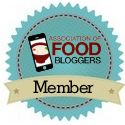 Member, Association of Food Bloggers