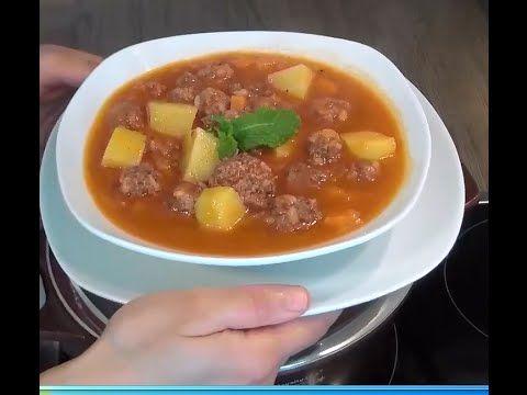 Sulu Köfte Tarifi | Sulu Köfte Yemeği Nasıl Yapılır | Bulgurlu Etli Yemek Tarifleri - YouTube