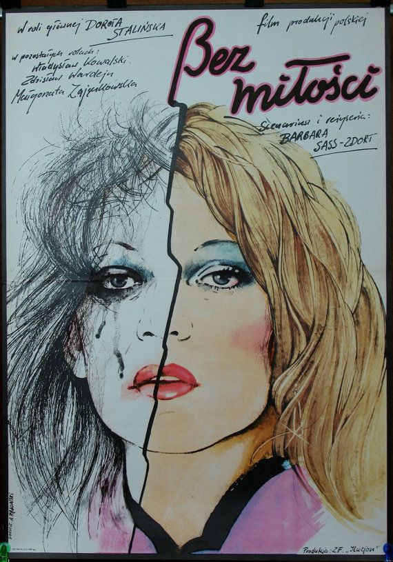 Without Love  Polish 1980 film by Barbara Sass  by artwardrobe
