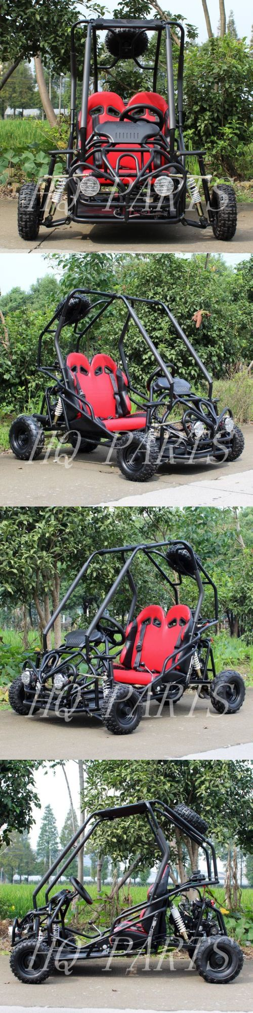 Complete Go-Karts and Frames 64656: Df-Moto 110Cc Go Kart Matte Black Df110gkb Steel Wheels With Free Spare Wheel -> BUY IT NOW ONLY: $999.99 on eBay!