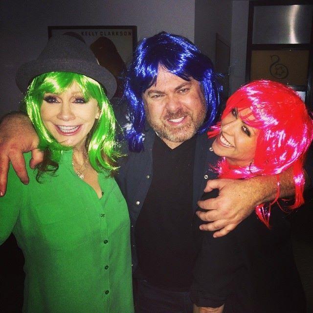 Narvel, Reba, and Laura at Katy Perry Concert