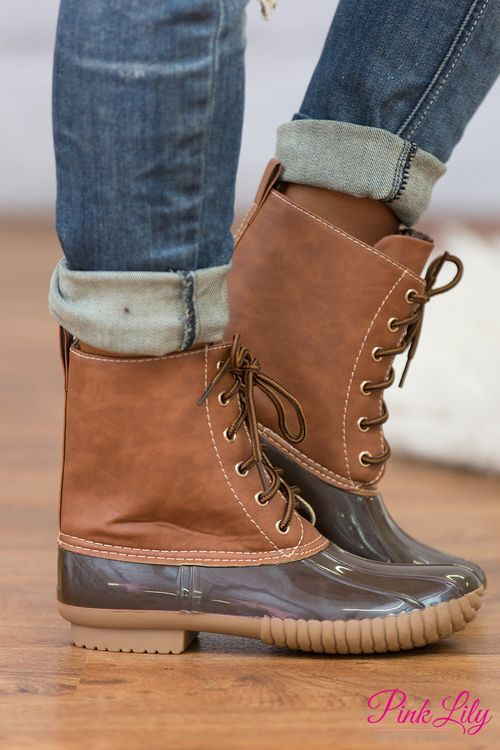 These boots are simply perfect for a day of exploring the outdoors!