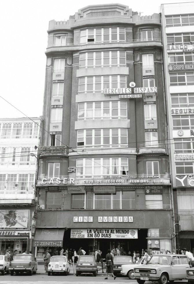 16 best cines antiguos de a coru a images on pinterest old pictures spain and spanish - Cine marineda city coruna ...