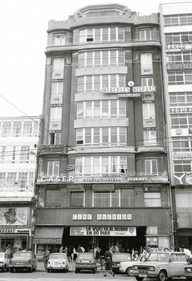 16 best cines antiguos de a coru a images on pinterest - Cine marineda city coruna ...