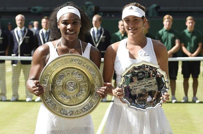 Serena Williams derrotó a Garbiñe Muguruza y se tituló campeona en Wimbledon (21 Fotos)