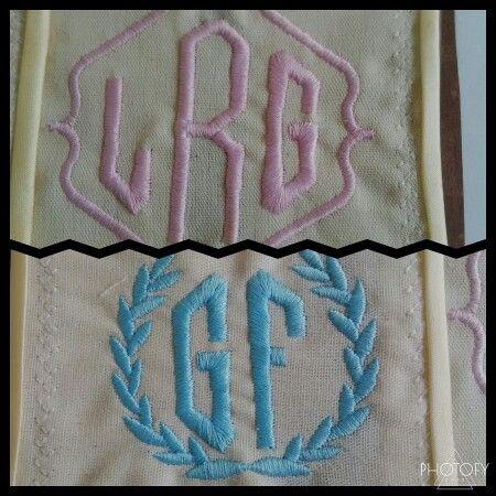 2/3 Monogram with crest