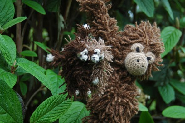 Knitting Collegehumor : Crochet amigurumi orangutan edwards menagerie kerry lord