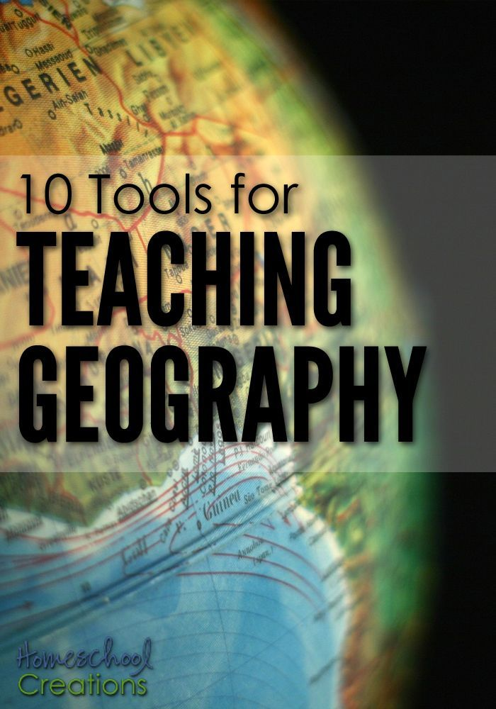 The most effective way to teach our kids geography is through the hands-on tools that go along with ANY study. Here are 10 tools for teaching geography – all things our family has used (and will use again) to keep learning fun.