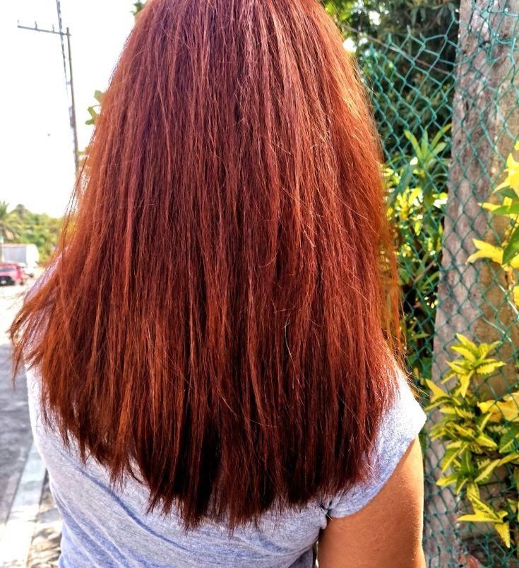 Pin en pelo-tenido